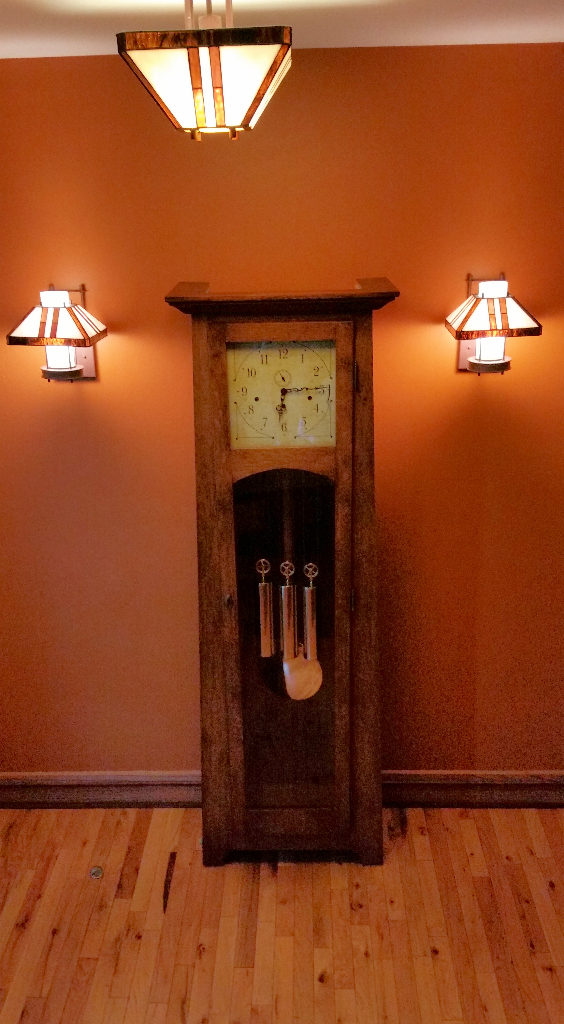 Arts & Crafts Grandfather Clock