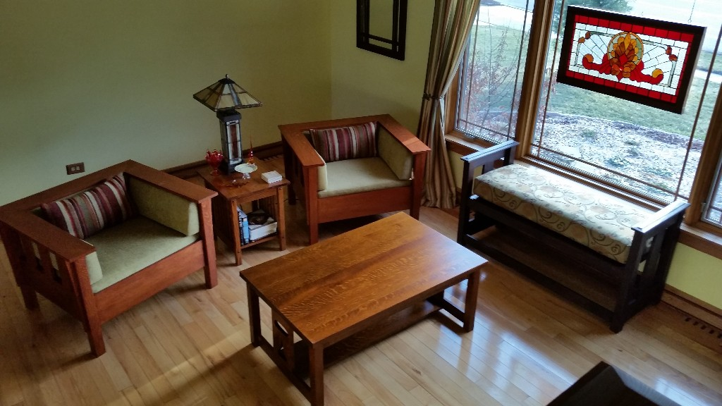 Mission Coffee Table Prairie Chairs