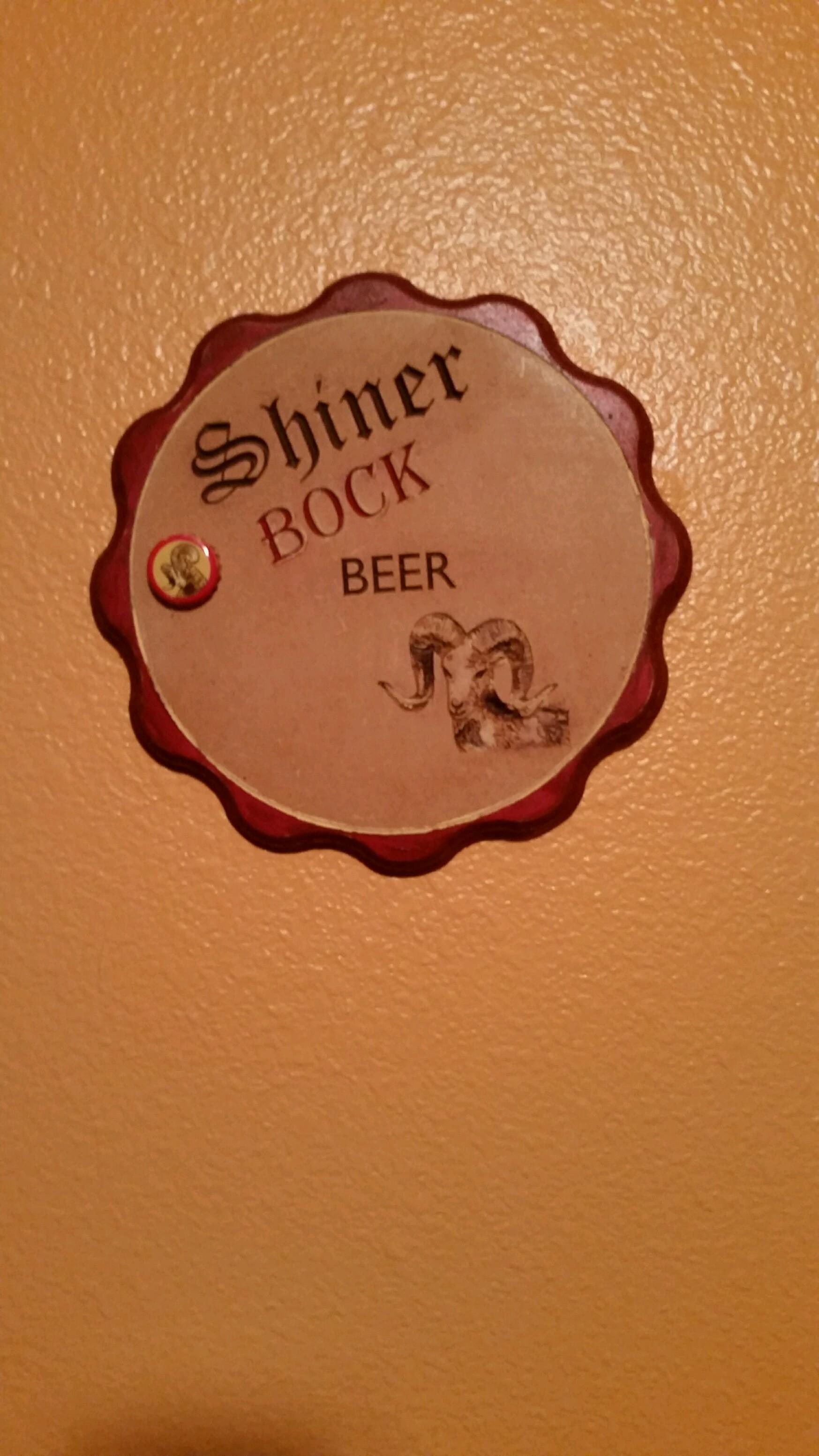 Shiner Bock Bottle Cap 13