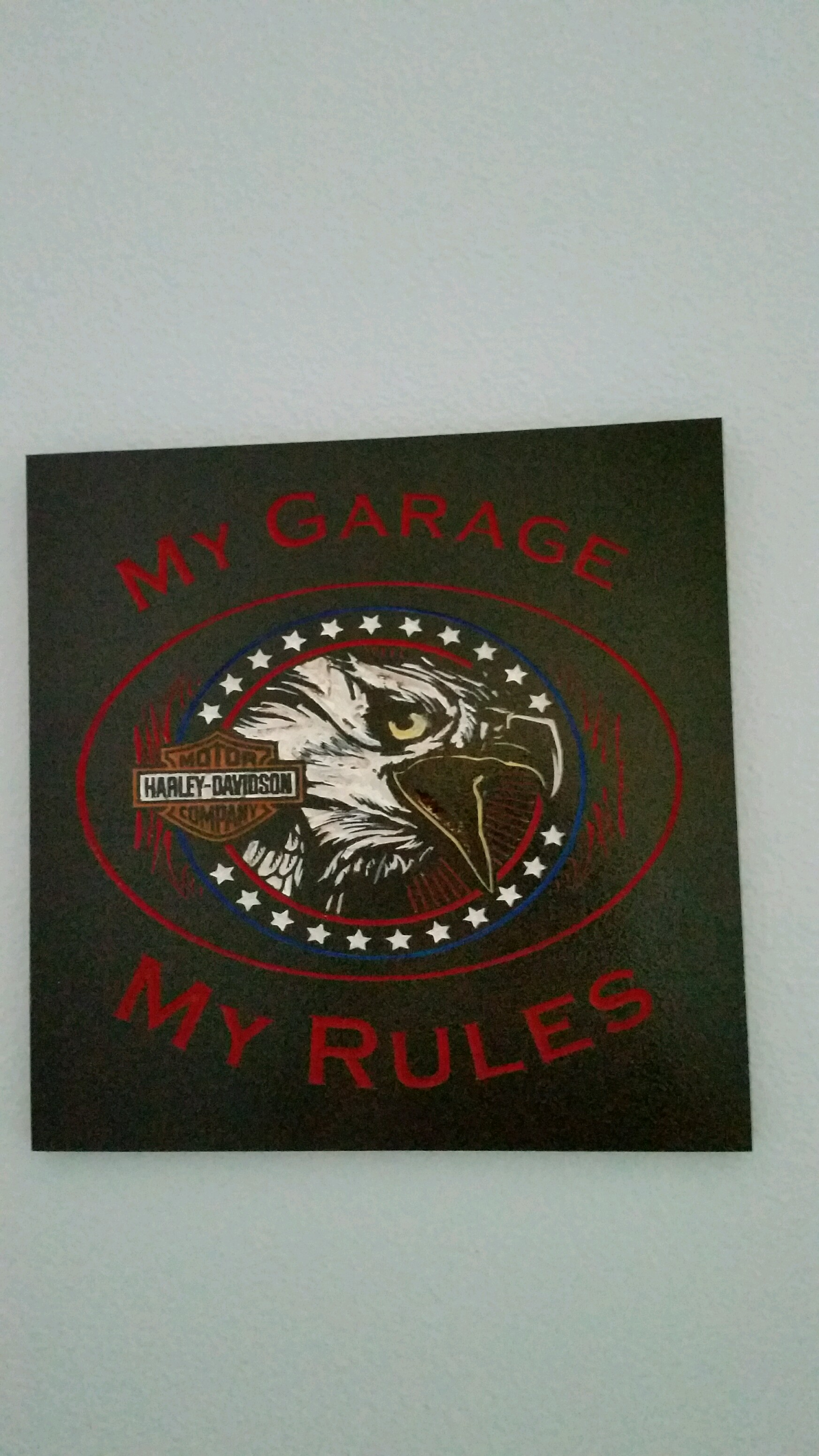 Fabulous My Garage My Rules Eagle Download Free Architecture Designs Viewormadebymaigaardcom
